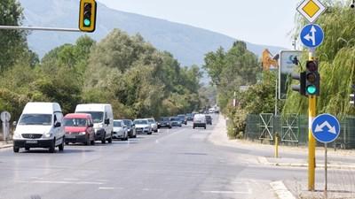 Разклонът за село Герман, откъде ще почне разширението на този участък от софийското околовръстно.