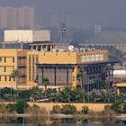 Изглед към американското посолство в Зелената зона в Багдад, Ирак. Снимка: Ройтерс