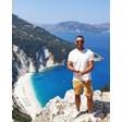 Антон Хекимян на почивка на остров Кефалония в Йонийско море