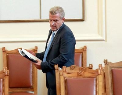 Петър Москов СНИМКА: Архив