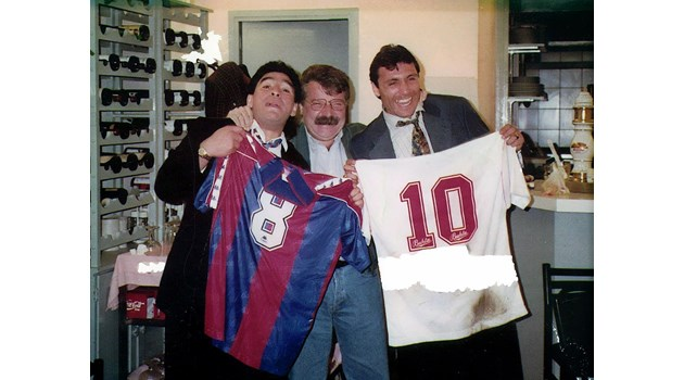 Приятелството между Стоичков и Марадона провалено заради хонорар от 10 млн. долара