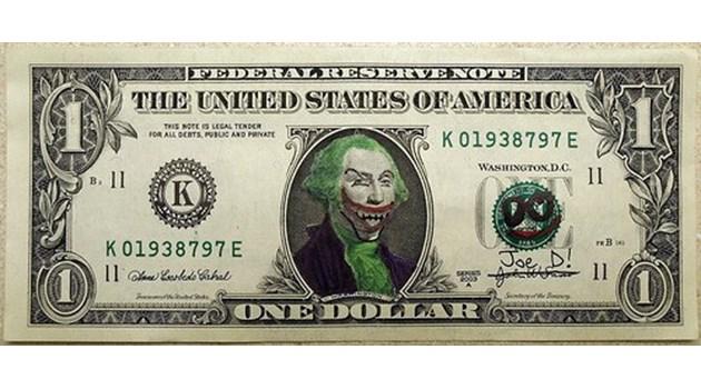 Върху доларовите банкноти няма нито една жена, цветнокож, мюсюлманин или явен представител на ЛГБТ обществото!