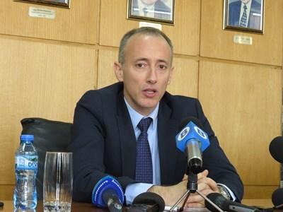 Министър Красимир Вълчев СНИМКА: Дима Максимова