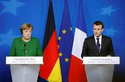 Меркел и Макрон СНИМКА: Ройтерс