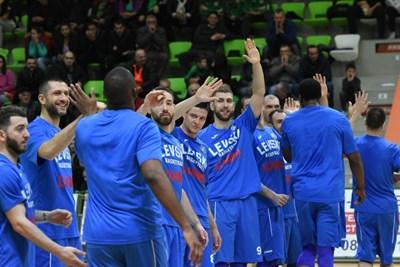 """""""Левски Лукойл"""" направи първа крачка към класиране за финала."""