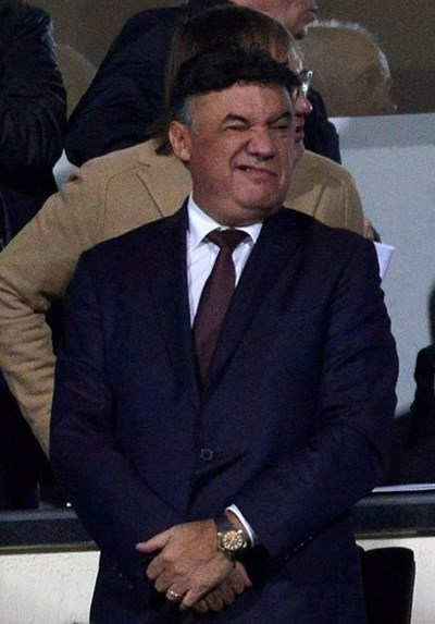 Борислав Михайлов по време на мача с Англия СНИМКА: Йордан Симeонов