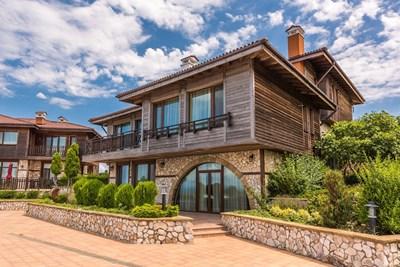 Къщата в Созопол, която се продава за 1,4 млн. евро. СНИМКИ: АРХИВ