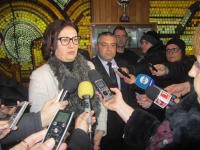 Румяна Бъчварова обясни, че за пръв път операция слещу битовата престъпност е обезпечена финансово СНИМКА: Дима Максимова
