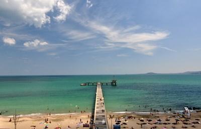 Централният и Северният плаж на Бургас предлагат удобства и простор. СНИМКА: Иван Михалев