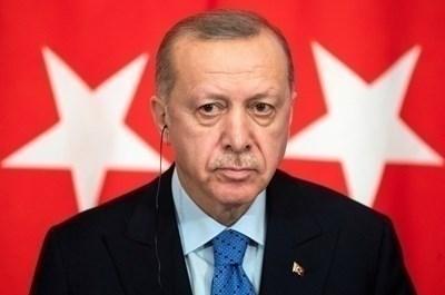 Президентът на Турция - Реджеп Ердоган СНИМКА: Ройтерс