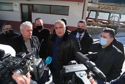 Бойко Борисов в Лъки Снимки: Министерски съвет