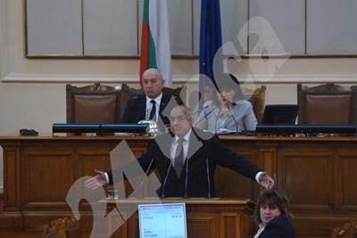 Бойко Борисов СНИМКИ: Велислав Николов СНИМКА: 24 часа