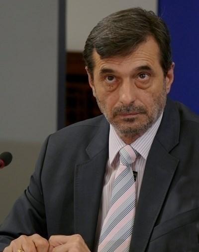 """Президентът на КТ """"Подкрепа"""" Димитър Манолов СНИМКА: Архив"""