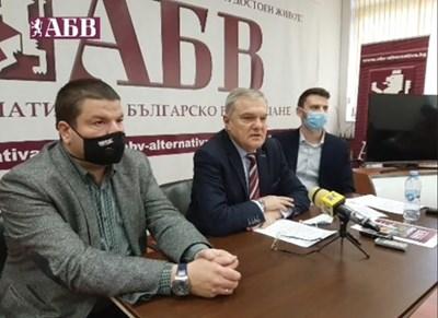 Лидерът на АБВ Румен Петков и заместникът му Владимир Маринов представиха готовността на партията за изборите.