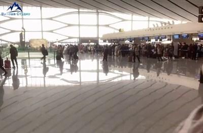 """Колко голямо е новото пекинско летище """"Дасин"""" (Видео)"""