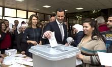Жена е конкурент на Башар Асад за президент на Сирия