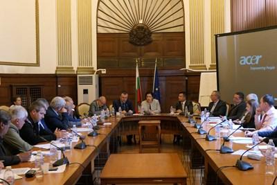 Десислава Танева си срещна с директорите на горски предприятия и регионални дирекции по горите. Снимка земеделско министерство