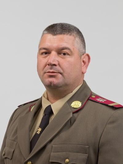 Старши сержант Цвятко Делков. Снимка пресцентър на министерство на отбраната