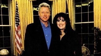 Бил Клинтън и Моника Люински СНИМКА: Архив