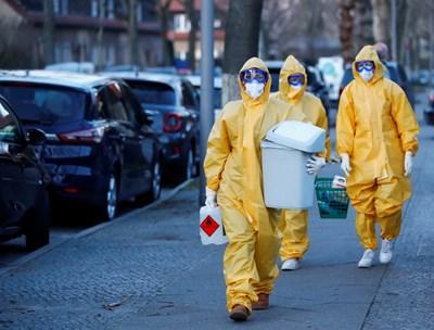 Коронавирусът ще струва на Германия до 729 млрд. евро СНИМКА: Ройтерс