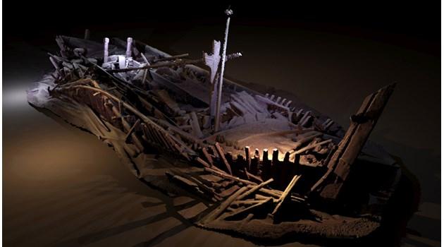 Под Черно море откриха кораби от времето на Симеон Велики и Марко Поло