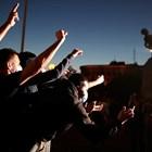 Демонстранти в Сърбия Снимки: Ройтерс