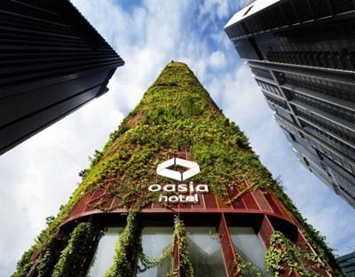 Oasia Hotel Downtown в Сингапур Снимки archspeech.com