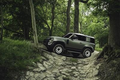 В очакване на новия Land Rover Defender
