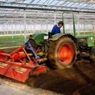 Елегантни машини и инвентари работят успешно в оранжериите