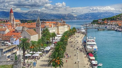 Трогир в Хърватия