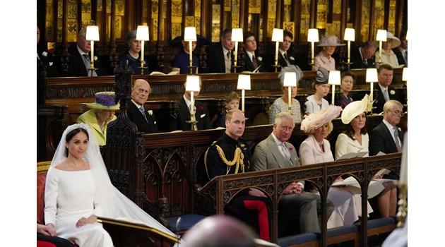Защо мястото до принц Уилям на кралската сватба беше празно и за кого бе отредено?