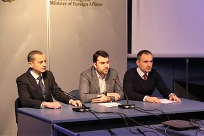 Тодор Чобанов, Георг Георгиев и Александър Оскар