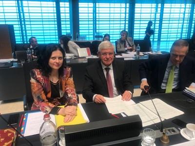 Здравният министър Кирил Ананиев бе председател на вчерашното заседание на Съвета на ЕС.