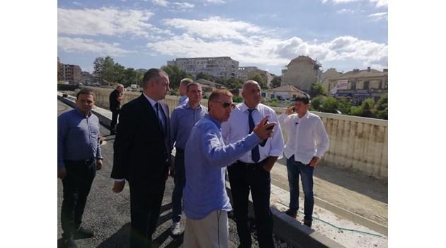Борисов провери най-големия инфраструктурен проект във Варна (Снимки)