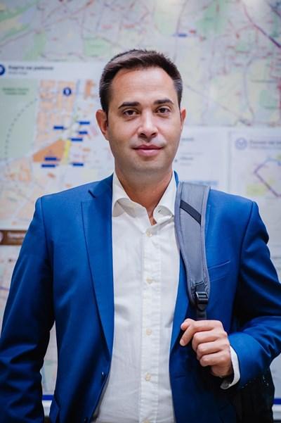 """Кметът на столичния район """"Лозенец"""" Любомир Дреков"""