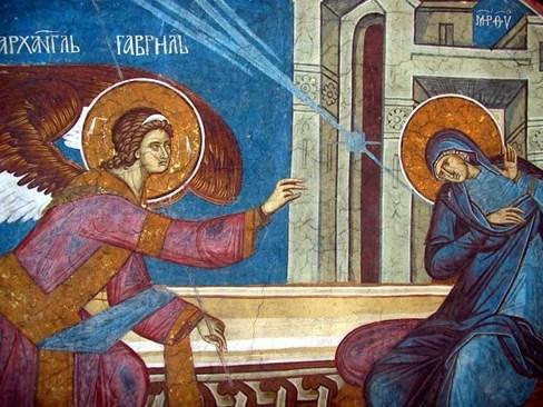 Благата вест и смелостта на Мария