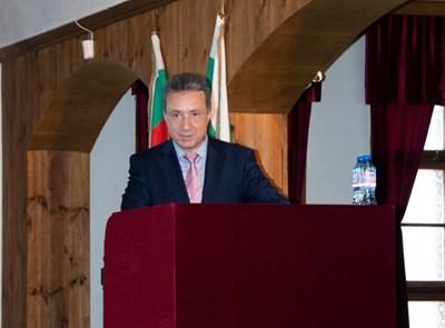 Затворът в Ловеч беше първата спирка в програмата на министъра на правосъдието проф. Янаки Стоилов. Снимки министерство на правосъдието