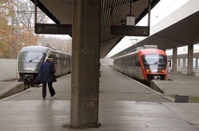 """Оборудването на локомотивите с нови седалки е част от програмата за подобряване на условията на труд СНИМКА: """"24 часа"""", Архив"""