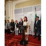 """Представители на синдикати, работодателски организации и институции бяха в парламента за среща с групата на """"Воля"""" за болничните."""