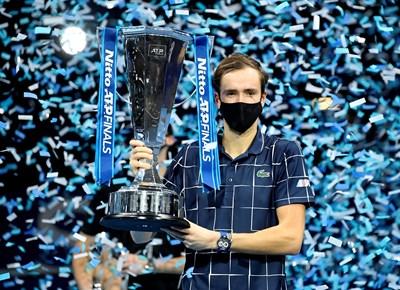 Шампионът Данил Медведев Снимка: Ройтерс