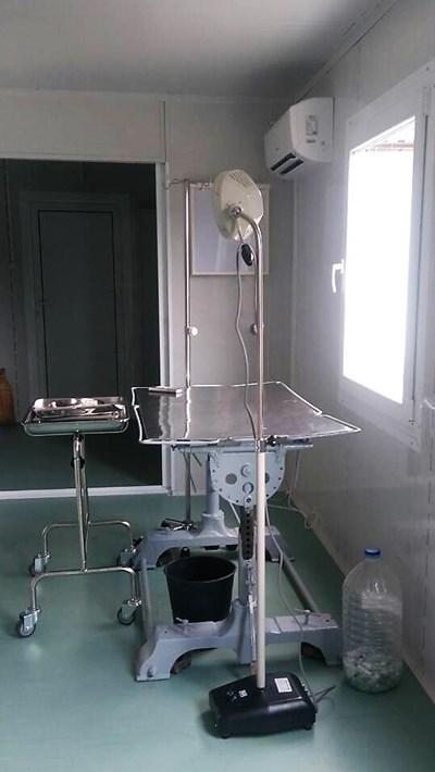 Новата амбулатория в общинския приют СНИМКА: Община Велико Търново