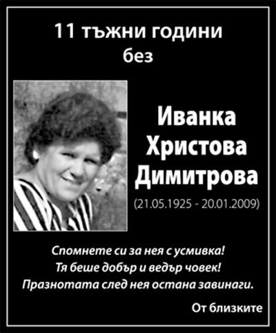 Иванка Димитрова