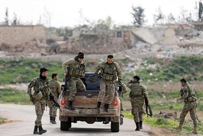 Водените от кюрди Сирийски демократични сили СНИМКА: Ройтерс