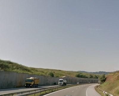 Пътят Перник - София СНИМКА: Google Street View