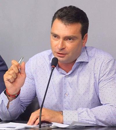 Калоян Паргов СНИМКА: пресцентърът на БСП-София