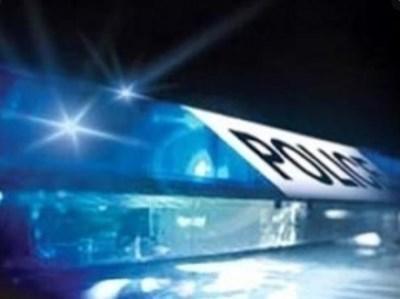 """42-ма ултраси на футболния """"Левски"""" осъмнаха в пловдивския арест, след като снощи участваха в масов бой помежду си. Снимка: МВР"""