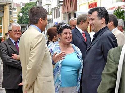 Мишо Бирата и съпругата му Ева Михова бяха приятели с президента Първанов СНИМКИ: АРХИВ