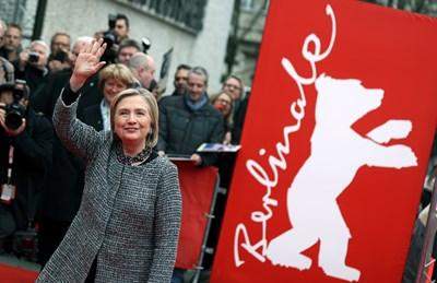 Хилари Клинтън на Берлинале Снимки: Ройтерс
