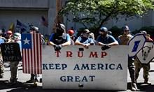 Не стихва напрежението в американския град Портланд
