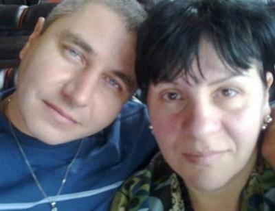 Иво Богданов и съпругата му